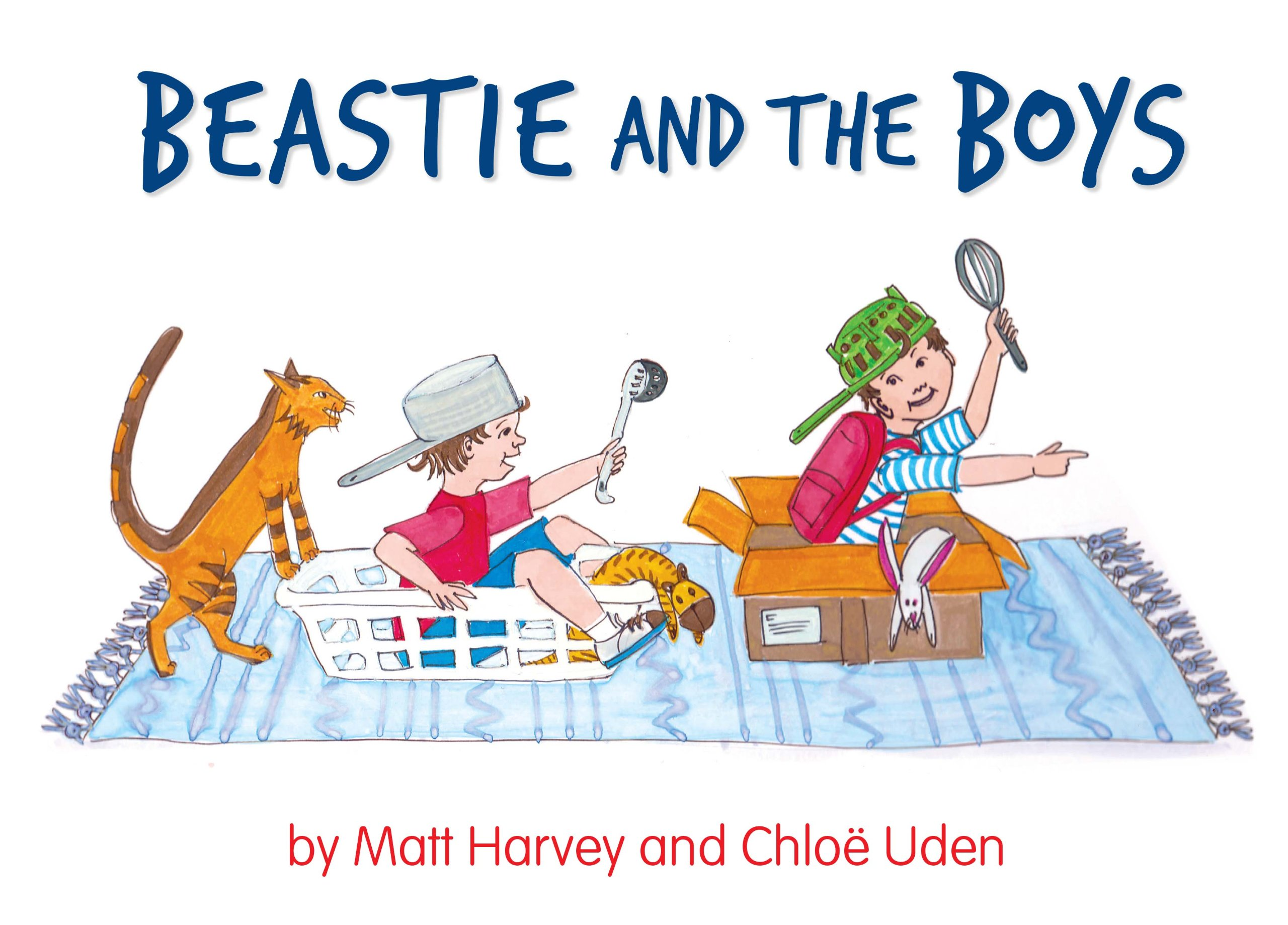 Beastie and the Boys front cover